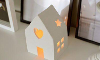 Zelf maken: huisje van klei
