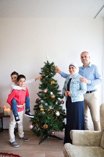 Het jaar van... vluchtelingen Rana en Mahmoud