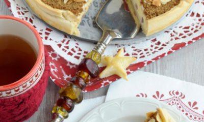 Recept voor speculaas cheesecake met stoofpeertjes