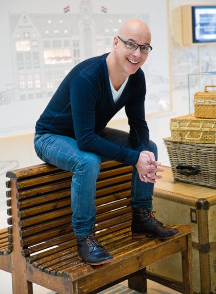 Presentator en schrijver Rob Kamphues: 'Ik heb het gevoel dat ik eindelijk aan het landen ben'