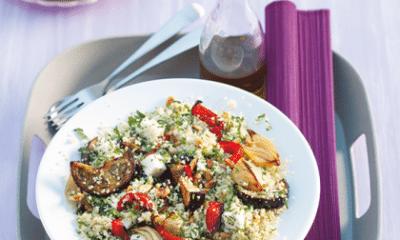 Recept voor couscoussalade met geroosterde groenten
