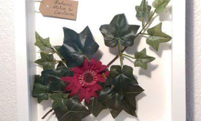 DIY-blog van Chantall: planten in een fotolijstje