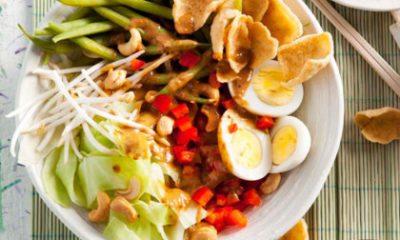 Recept voor Indonesische gadogado met ei