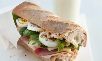 Paasrecept voor stokbroodje met gruyère, ham en ei