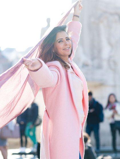 Loubna: 'Mijn hoofddoeken werden verkocht bij de Bijenkorf'
