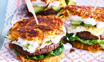 Recept voor röstibroodje met hamburger van Chickslovefood