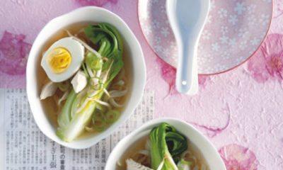 Recept voor noedelsoep met kip