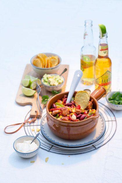 Recept voor Tex-Mex-stoofpotje