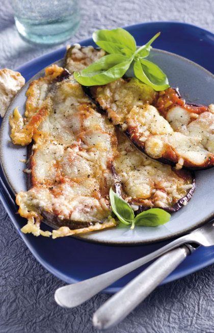 Recept voor aubergine met mozzarella