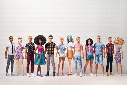 Ken van Barbie krijgt spierballen en een knotje