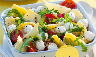 Recept voor ravioli met tomaatjes, mozzarella en pijnboompitten