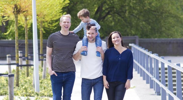 Rick Paul van Mulligen: 'We doen de opvoeding van Ko met z'n drieën'