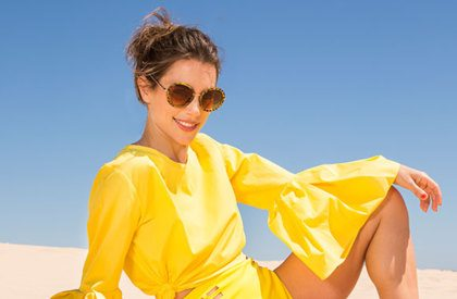 Video: zonnig geel