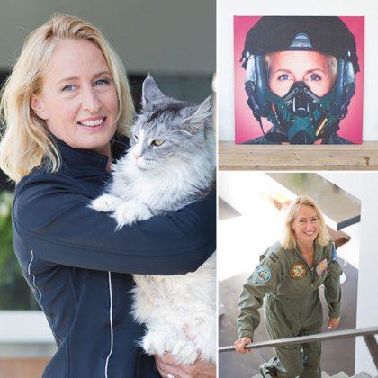 Manja: 'Ik was de eerste vrouwelijke F-16-piloot ter wereld'