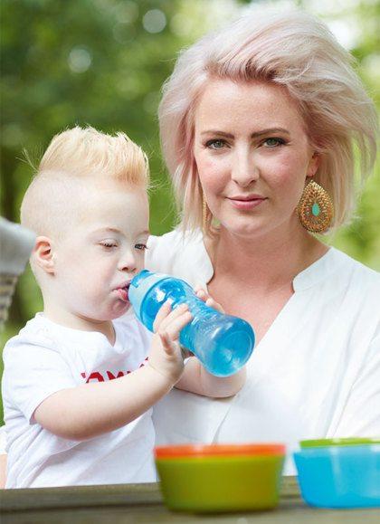 Joan hoorde één dag voor de bevalling dat haar zoon het downsyndroom heeft