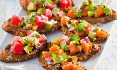 Recept voor bruschette met tonijnsalsa