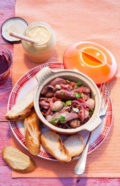 Recept voor Franse coq-au-vin