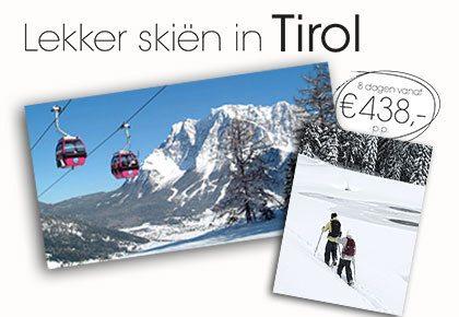 Lekker skiën in Tirol
