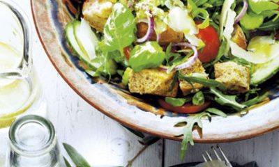Recept voor panzella van zuurdesem