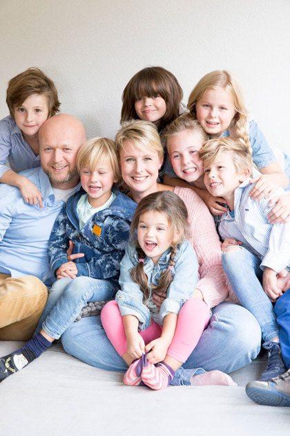 Van 3 naar 7 kinderen: 'We voelen ons soms net de familie Von Trapp'