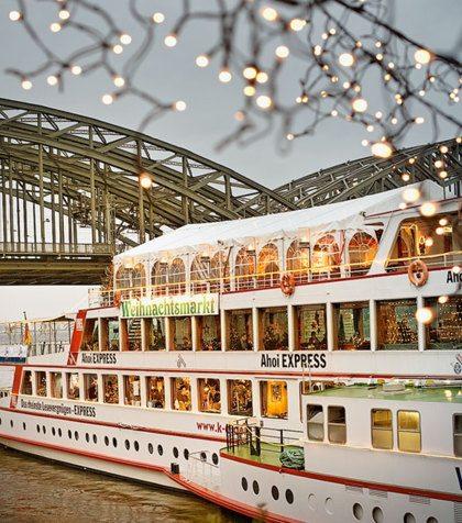 Mega grote kerstmarkt in Amsterdam