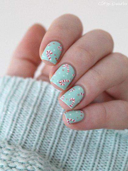 De mooiste nail art voor de feestdagen