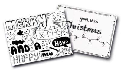 Handlettering: kerstkaarten maken