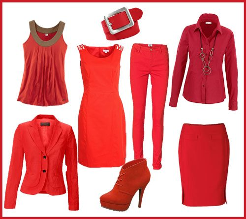Top Dress Red Day #BI43