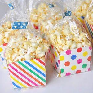 Trakteren op popcorn
