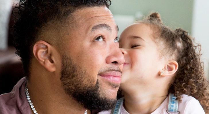 Papa Jay en dochter Félice