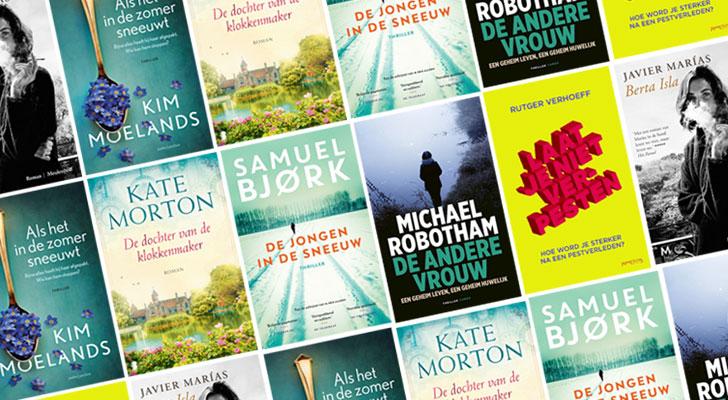 Nieuwe boeken in oktober