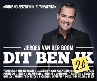 Jeroen van der Boom terug in het theater met Dit ben ik