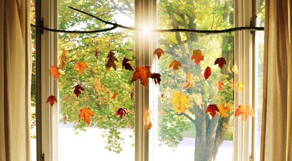 Herfst DIY: zo maak je 4 leuke hangers van bladeren
