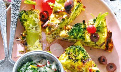 Recept voor ricotta-broccolitaart met rozemarijn en ansjovis