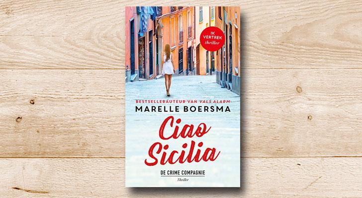Maak 5x kans op het boek Ciao Sicilia van Marelle Boersma