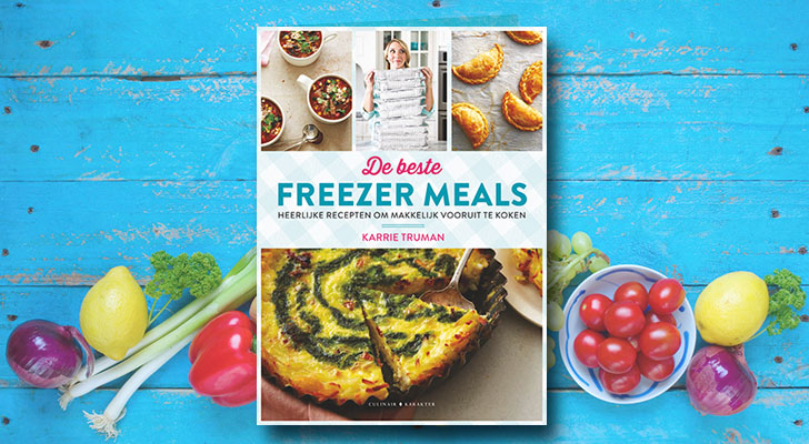 Win 5x het boek Freezer meals