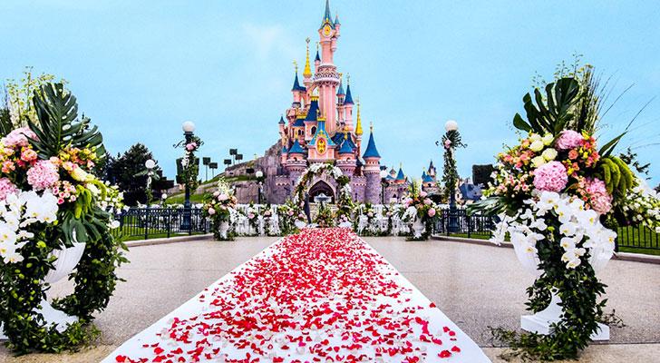 Wauw: win een huwelijksreis naar Disneyland Paris