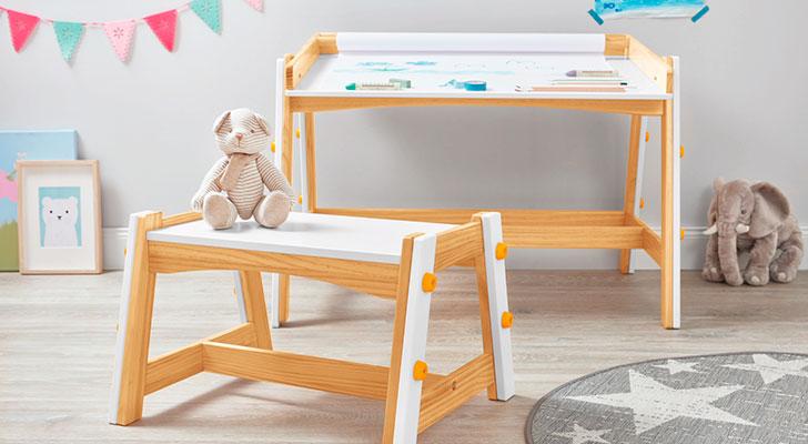 6x Plywood Kinderkamers : Deze creatieve kindertafel bestel je vanaf morgen bij lidl