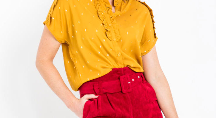 Een beetje lente in je outfit: shop de leukste items in rood & geel