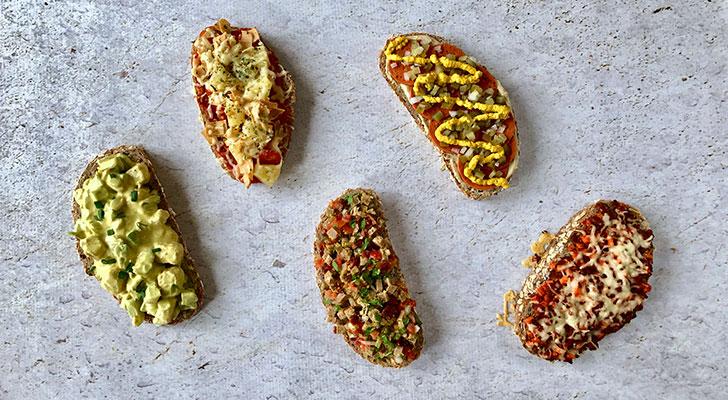 Vegetarisch broodbeleg: dit zijn heerlijke lunchrecepten zonder vlees