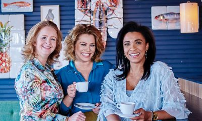 Mamma Mia!-actrices Antje Monteiro, Sophia Wezer en Hilke Bierman: 'We hebben mazzel met elkaar'