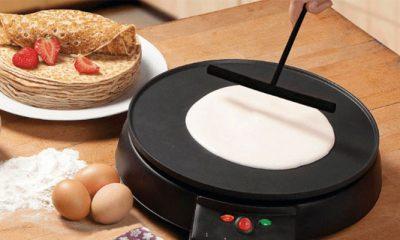 Met deze elektrische pannekoekenmaker van Aldi bak jij de perfecte pannekoek
