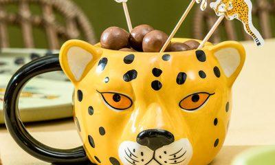Deze cheetah mok wil je toch meteen hebben?