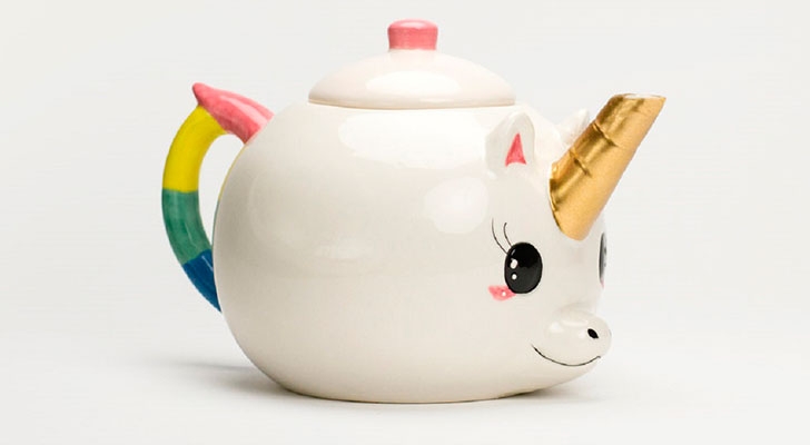 Te schattig: deze unicorn theepot koop je nu met korting