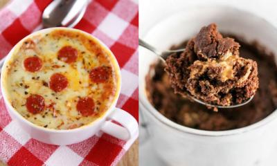 Van pizza tot brownie: 5 lekkere dingen om te bakken in een mok