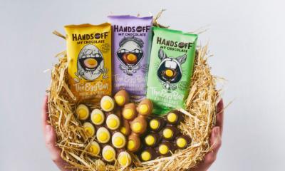 Win 5x een pakket met The Egg Bars van Hands Off My Chocolate