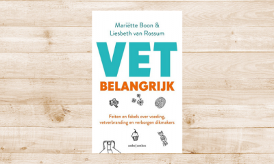 Win 10x het boek VET belangrijk door Liesbeth van Rossum en Mariëtte Boon