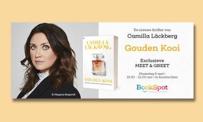 Win 5x 2 tickets voor de exclusieve BookSpot meet & greet met Camilla Läckberg