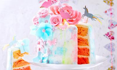 Watercolour cake