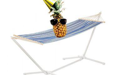 Hangmat met onderstel: dat wordt chillen voor een prikkie